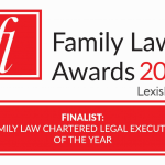 logo for family law awards 2019