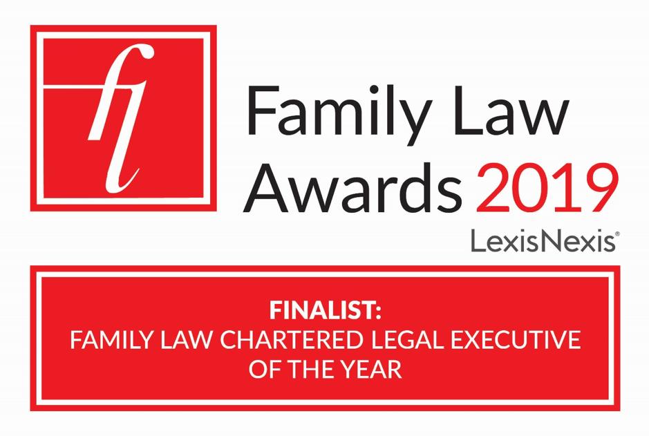 logo for family law awards 2019
