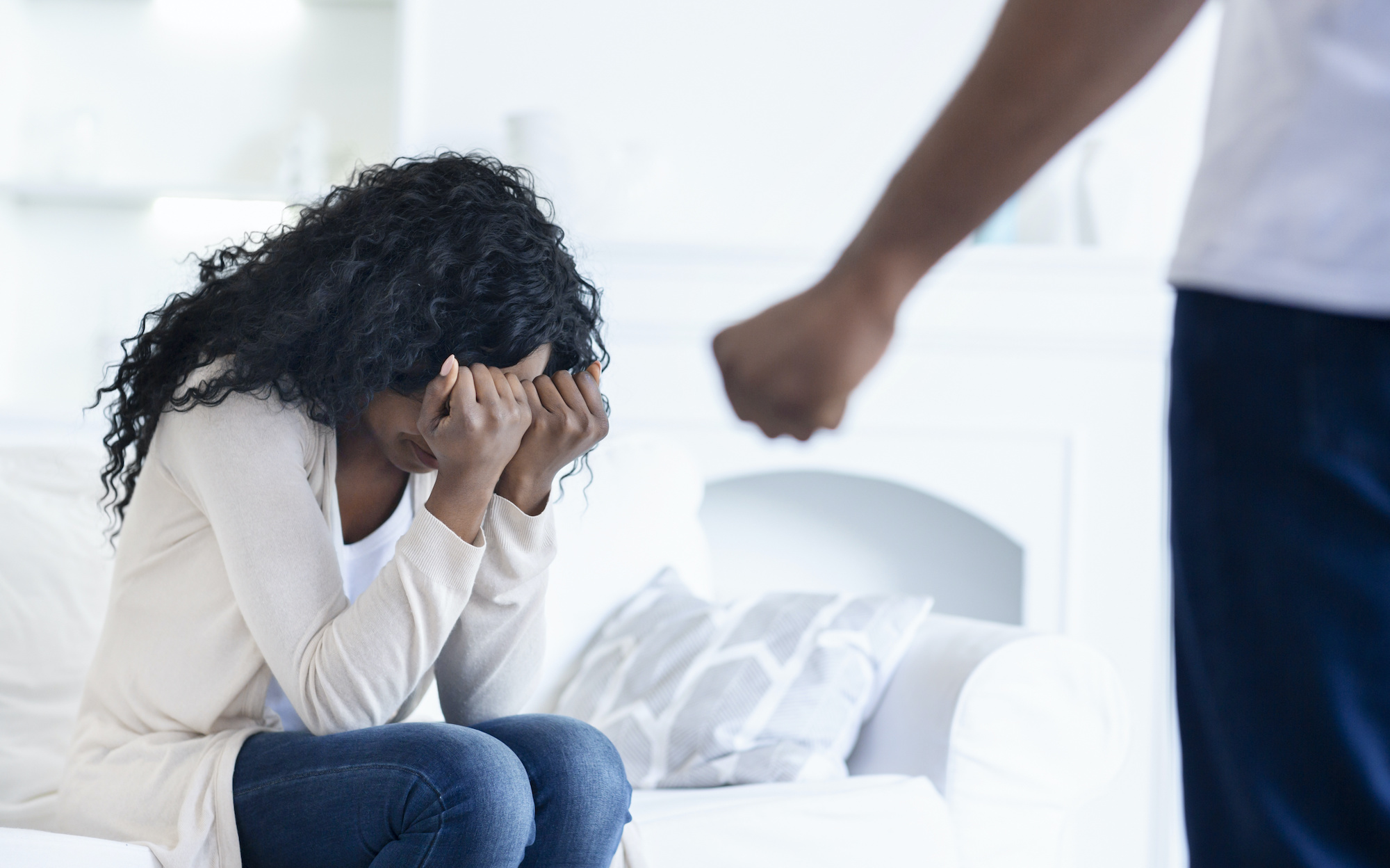 image of domestic violence